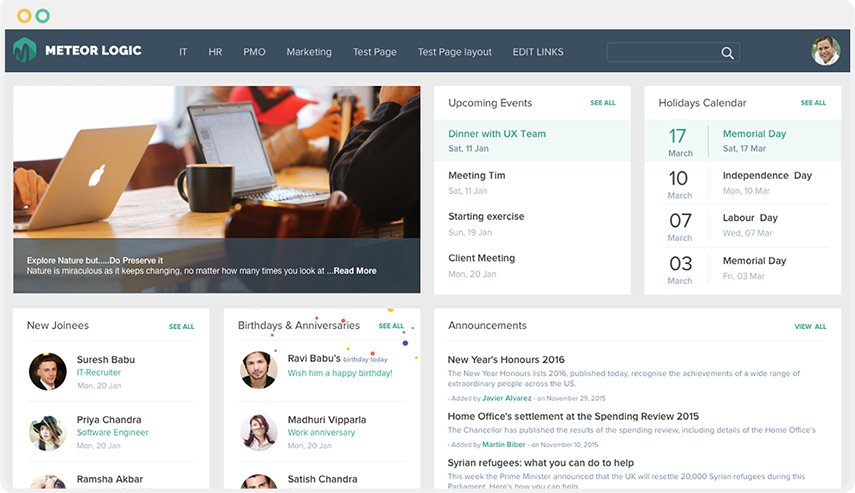 SharePoint Intranet Design